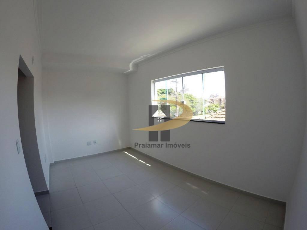 Sobrado com 2 dormitórios à venda, 91 m² por R$ 410.000 - Estuário - Santos/SP