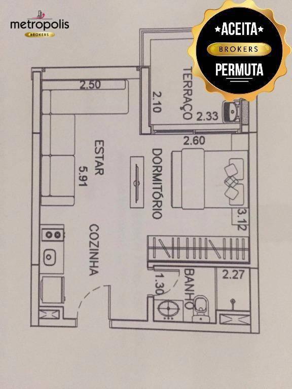 Loft residencial à venda, Jardim do Mar, São Bernardo do Campo - LF0001.