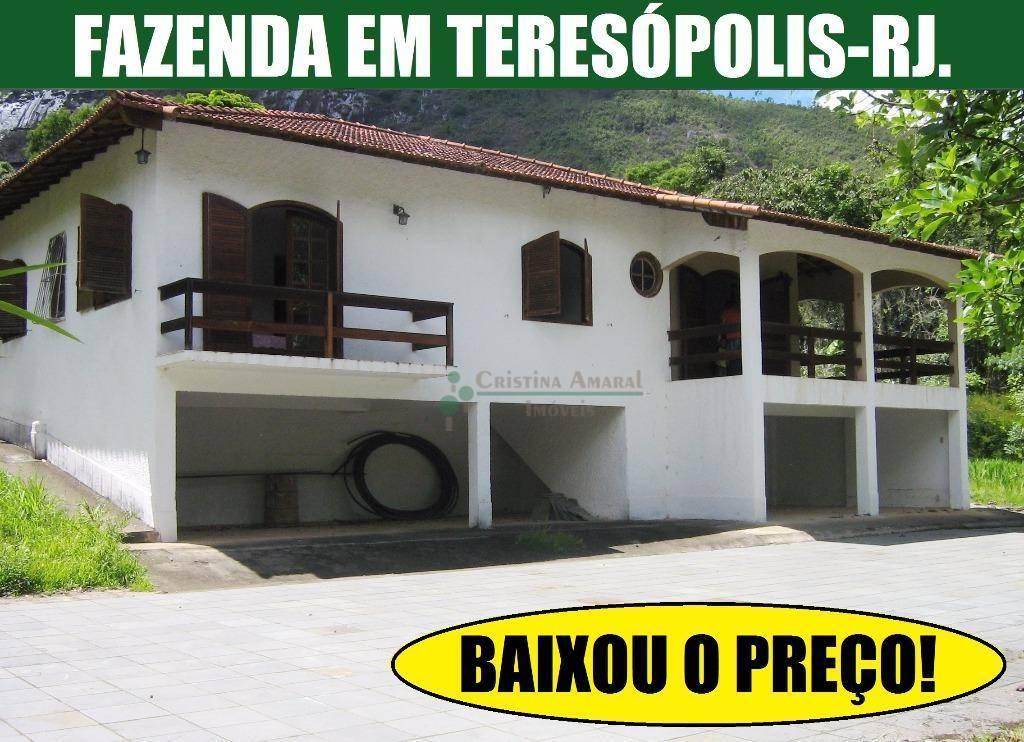 Fazenda / Sítio à venda em Teresópolis, Sebastiana