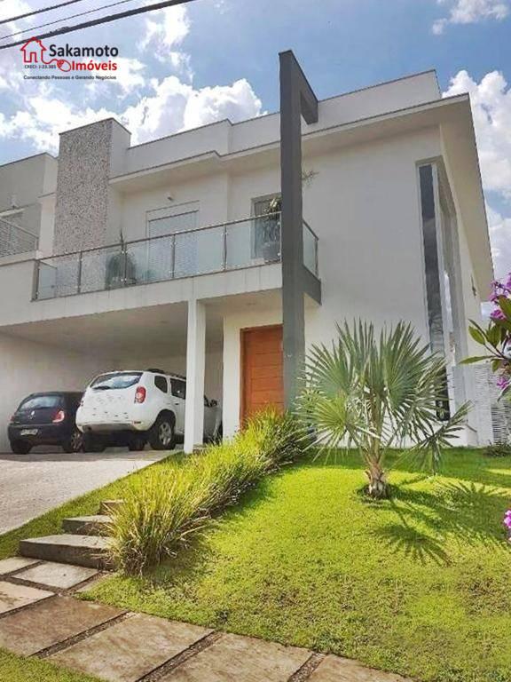 Sobrado residencial à venda, Condomínio Mont Blanc, Sorocaba. ESTUDA PERMUTA COM IMÓVEL EM CONDOMÍNIO