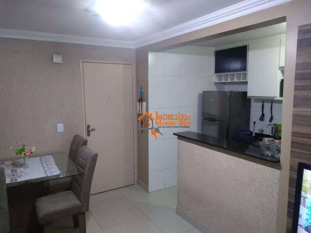 Apartamento com 2 dormitórios, 47 m²  - Centro - Guarulhos/SP