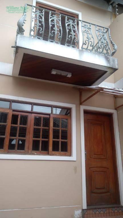 Sobrado com 2 dormitórios à venda, 116 m² por R$ 400.000 - Vila Augusta - Guarulhos/SP