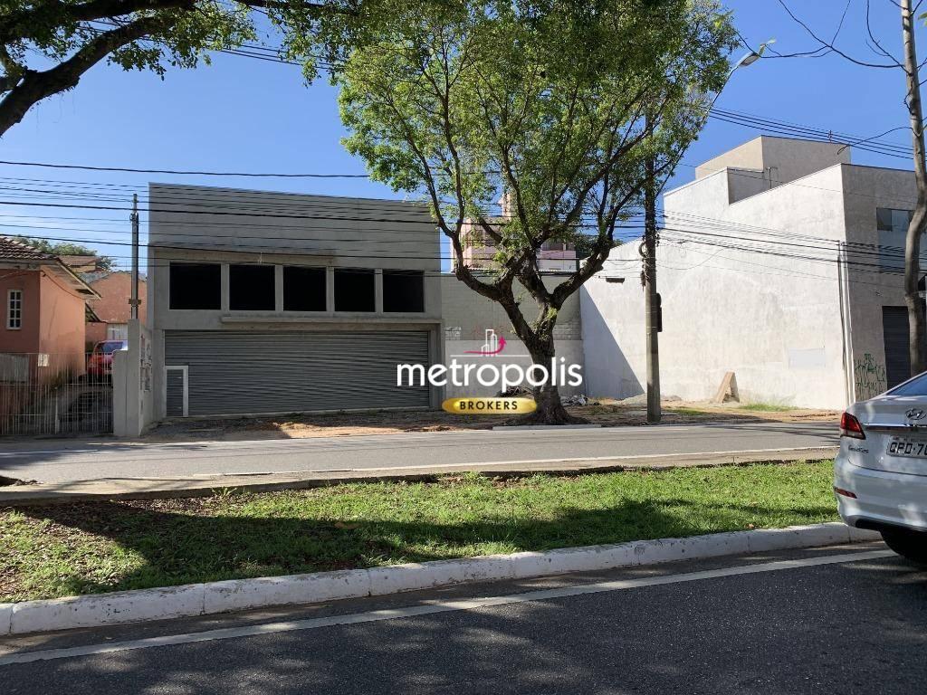 Galpão para alugar, 200 m² por R$ 20.000,00/mês - Cerâmica - São Caetano do Sul/SP