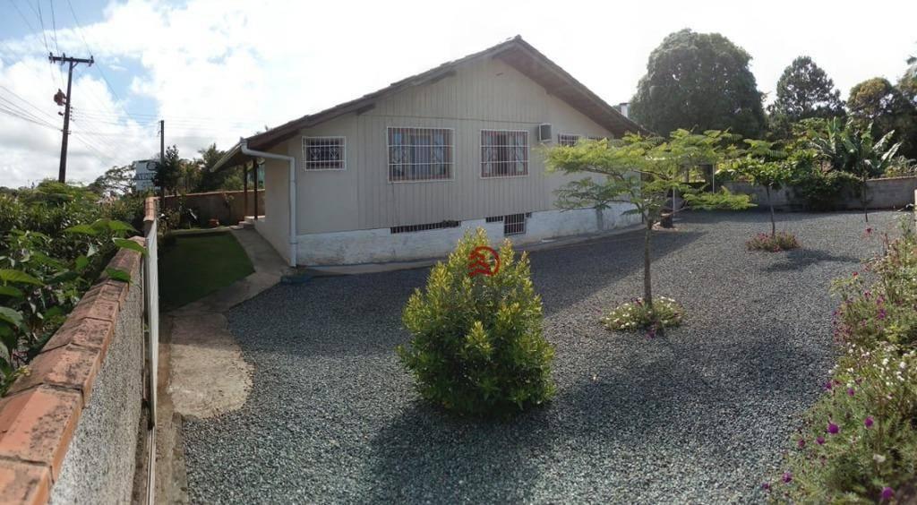 Casa grande com 3 dormitórios à venda, 84 m² por R$ 195.000 - Itapocú - Araquari/SC