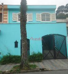 Sobrado Residencial à venda, Parque Jaçatuba, Santo André - SO0208.