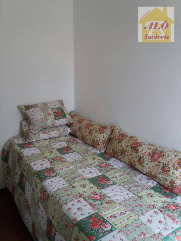 Apartamento residencial à venda, Vila Valparaíso, Santo Andr