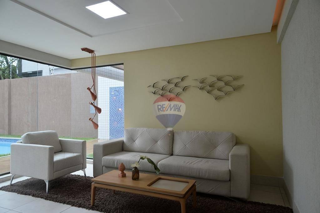 Flat Tamarineira 1 suite com sistema de segurança CFTV