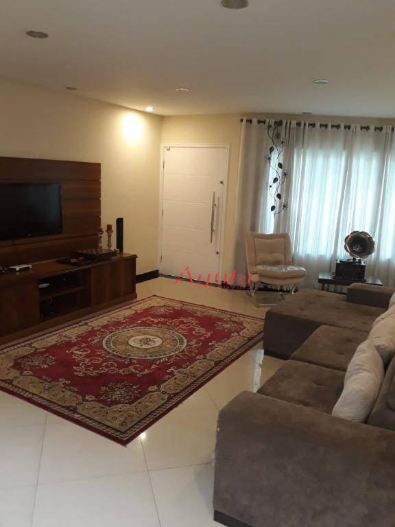 Sobrado com 3 dormitórios à venda, 300 m² por R$ 1.000.000 - Vila Curuçá - Santo André/SP