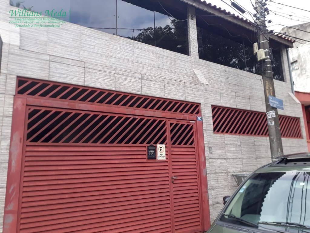 Sobrado com 3 dormitórios à venda, 295 m² por R$ 650.000 - Jardim Iporanga - Guarulhos/SP
