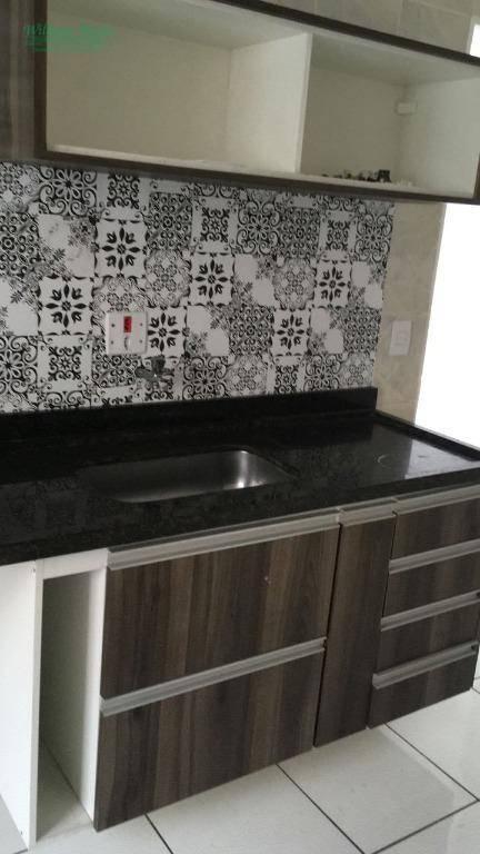 Apartamento residencial para locação, Jardim Testae, Guarulh