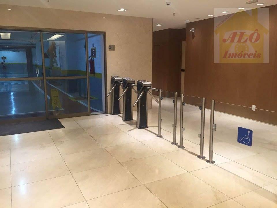 Sala à venda, 43 m² por R$ 290.000,00 - Valongo - Santos/SP