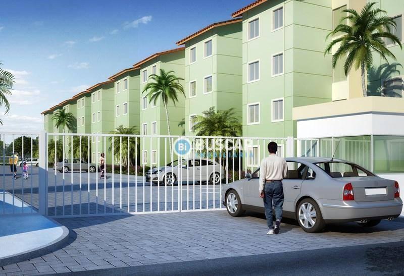 Apartamento para alugar, 45 m² por R$ 390,00/mês - Conceição - Feira de Santana/BA