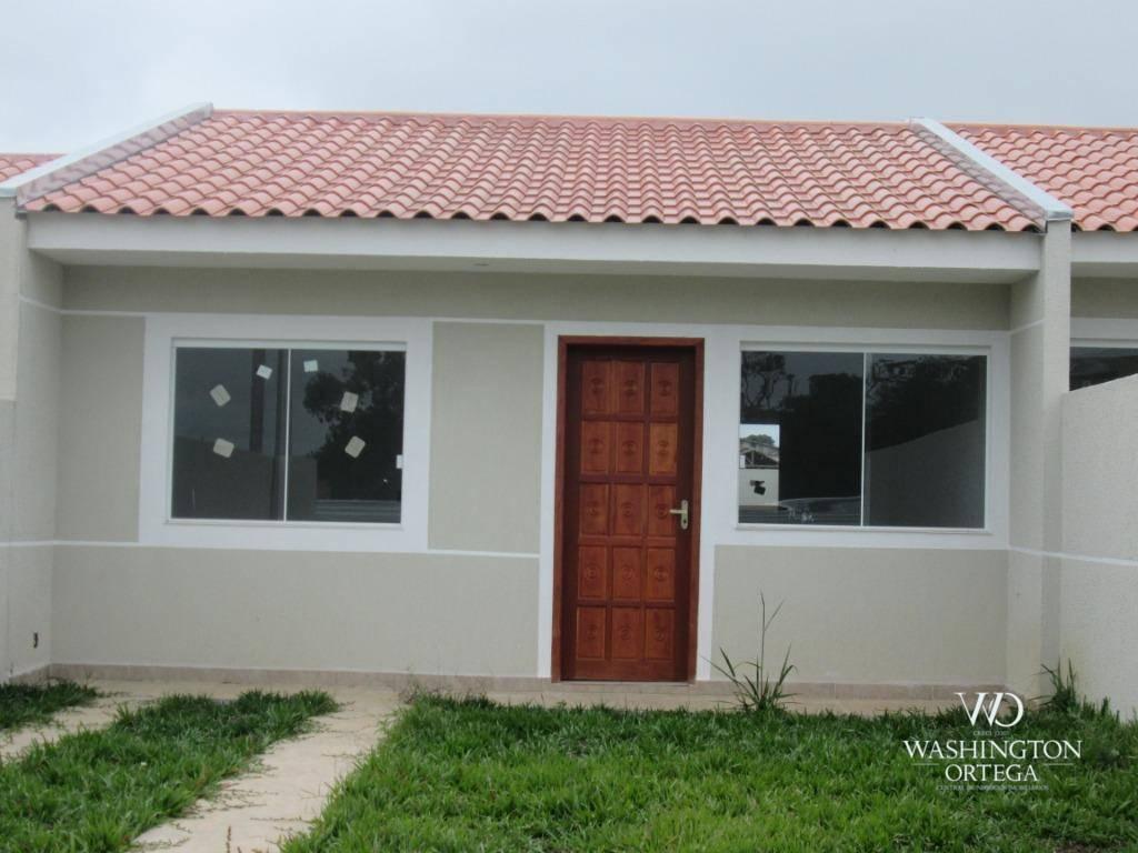 Casa com 2 dormitórios à venda, 48 m² por R$ 155.900 - Campo
