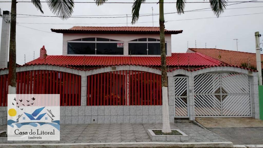 Sobrado residencial à venda, Balneário São Jorge, Itanhaém - SO0024.
