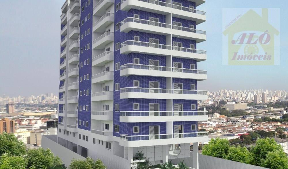 Apartamento à venda, 68 m² por R$ 333.000,00 - Canto do Forte - Praia Grande/SP