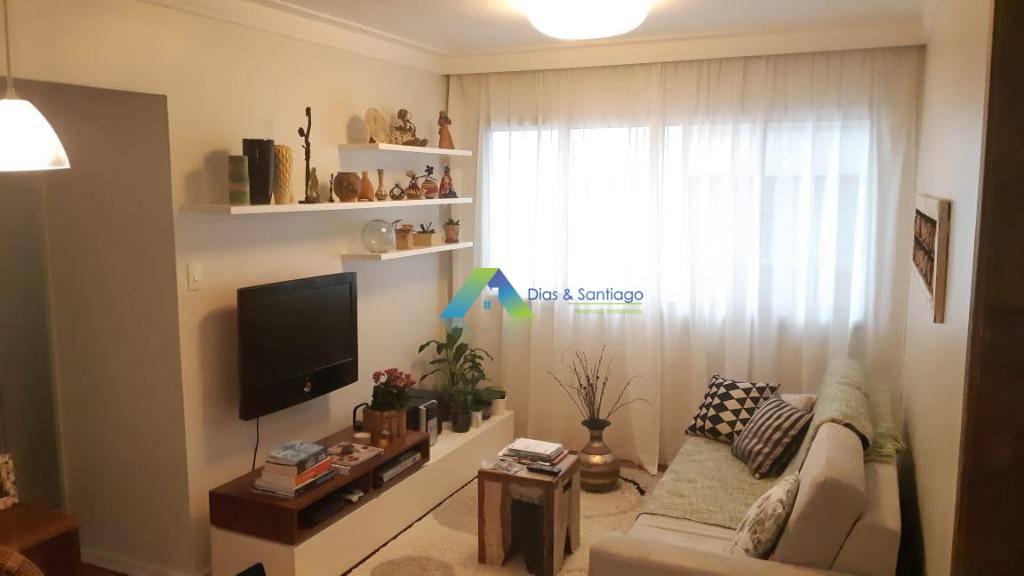 Lindo apartamento todo reformado, designer moderno e sofisticado com 2 dormitórios, 1 vaga de garagem, salão de festa, solarium  excelente localização