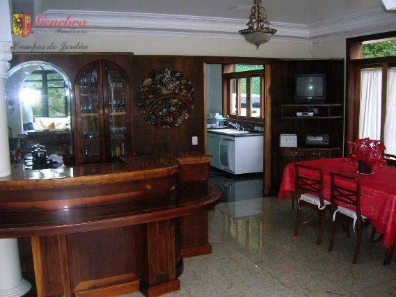 sala com 3 ambientes , gazebo, lareira, home theater, varanda, sala de ginástica, 2 lavabos, cozinha...