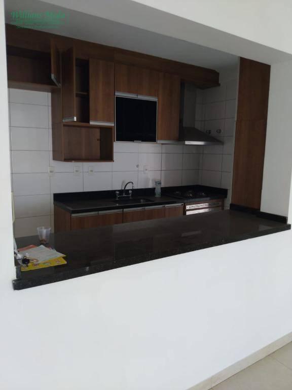 Apartamento com 2 dormitórios para alugar, 89 m² por R$ 1.700/mês - Jardim Aida - Guarulhos/SP