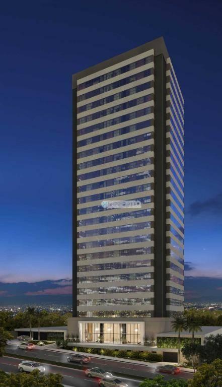 Sala para alugar no Torre Siena na Gleba Palhano, 149 m² por R$ 7.300/mês