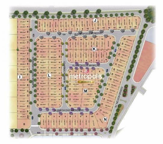 Terreno à venda, 360 m² por R$ 1.070.000 - Cerâmica - São Caetano do Sul/SP