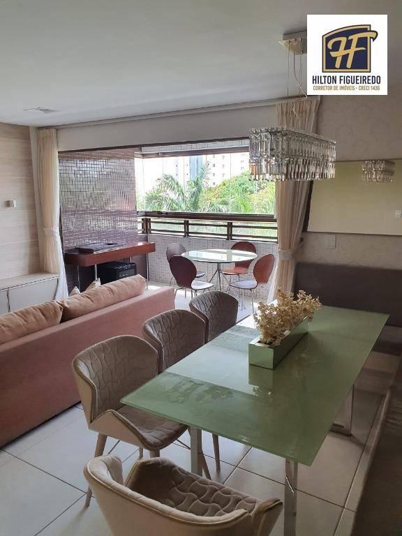Apartamento com 3 dormitórios, 100 m² - venda por R$ 680.000,00 ou aluguel por R$ 3.500,00/mês - Altiplano - João Pessoa/PB