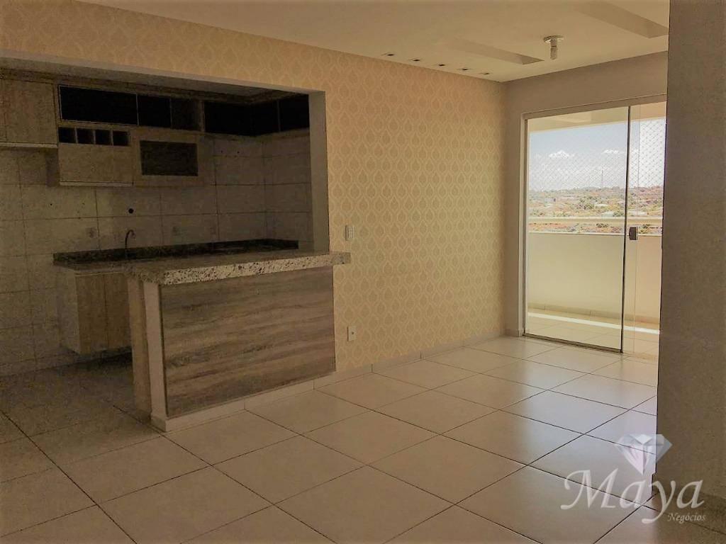 Apartamento 3 Quartos, 109 m² c/ armários no Jardim América - Ed. Terracota