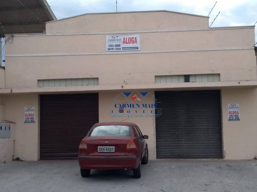 Barracão para alugar, 180 m² por R$ 2.200,00/mês - São Pedro - São José dos Pinhais/PR