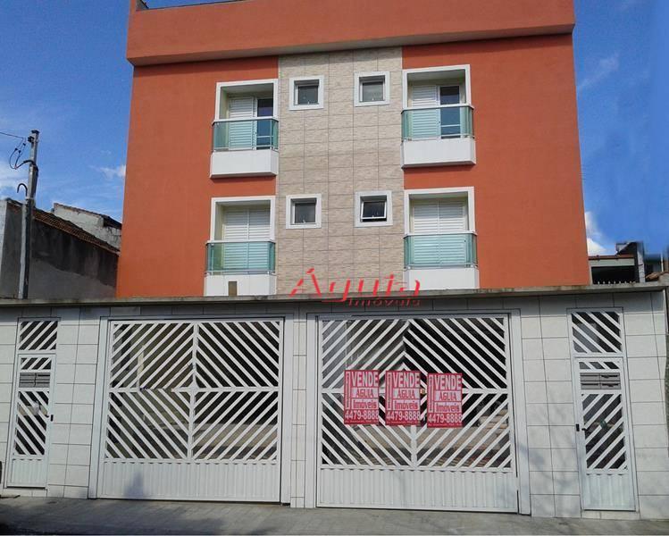 Apartamento Residencial à venda, Vila Lucinda, Santo André - AP0042.
