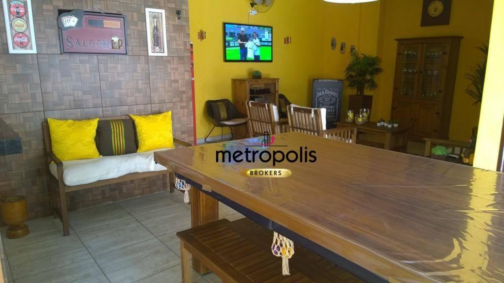 Sobrado à venda, 306 m² por R$ 1.200.000,00 - Vila Metalúrgica - Santo André/SP