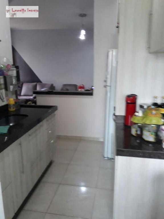 Apartamento com 2 dormitórios à venda, 50 m² por R$ 225.000 - Parque Erasmo Assunção - Santo André/SP