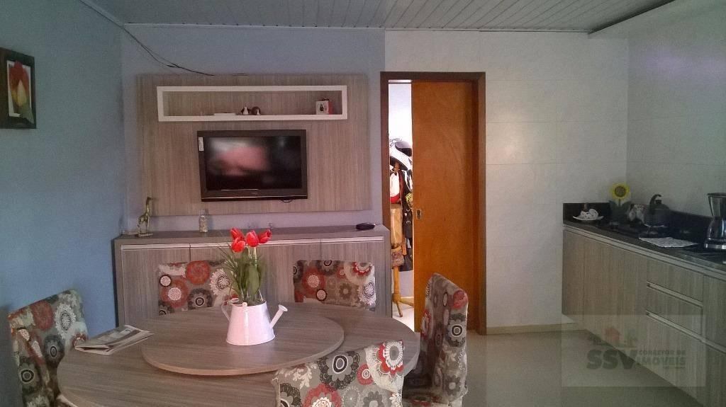 excelência na localidade e exuberância na qualidade.2 casas uma em alvenaria com 1 dormitório sala de...