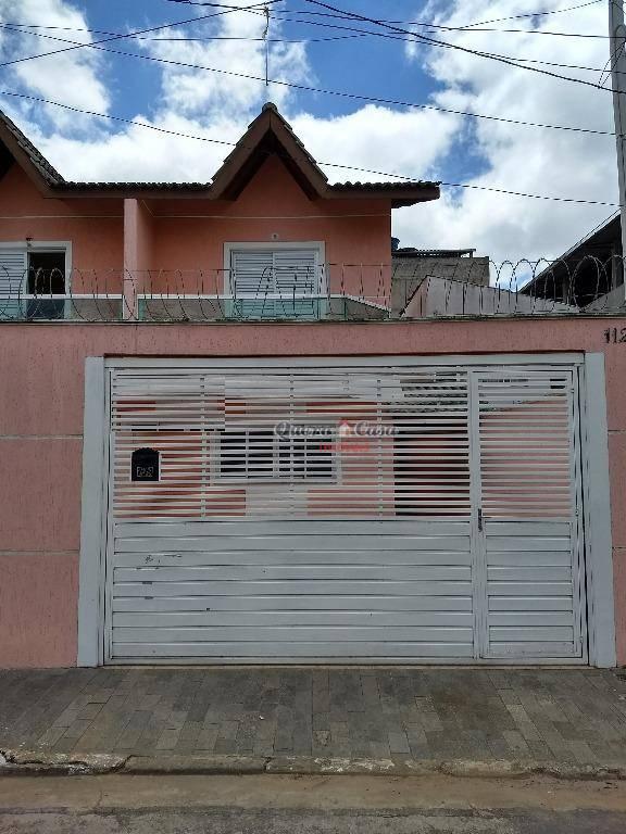 Sobrado residencial à venda, Jardim do Triunfo, Guarulhos.