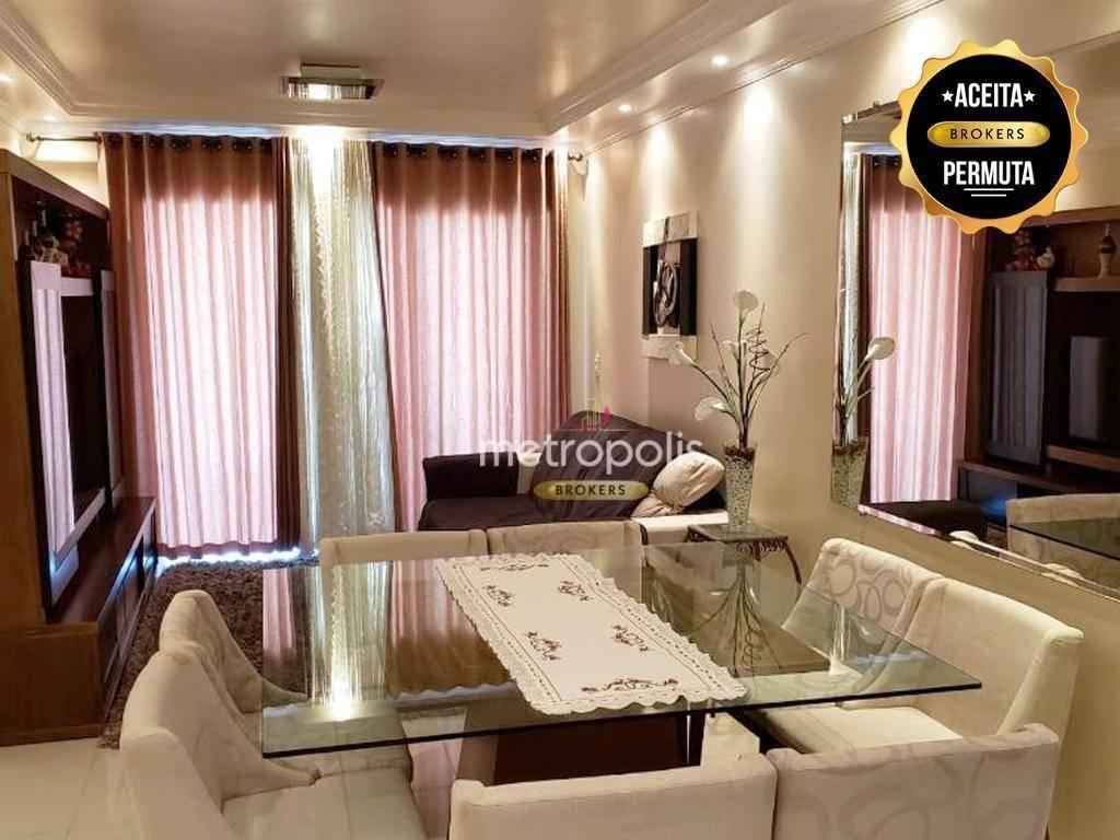 Apartamento à venda, 105 m² por R$ 660.000,00 - Centro - São Bernardo do Campo/SP