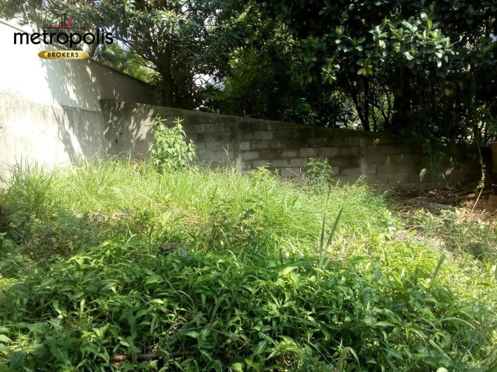 Terreno à venda, 264 m² por R$ 500.000 - Barcelona - São Caetano do Sul/SP