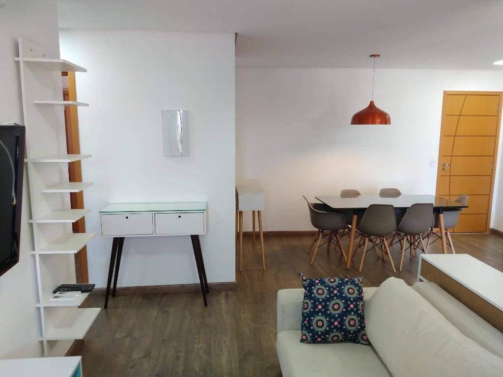 Apartamento com 2 dormitórios para alugar, 87 m² por R$ 2.40