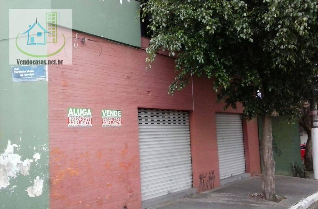 Salão comercial para locação, Campo Grande, São Paulo.