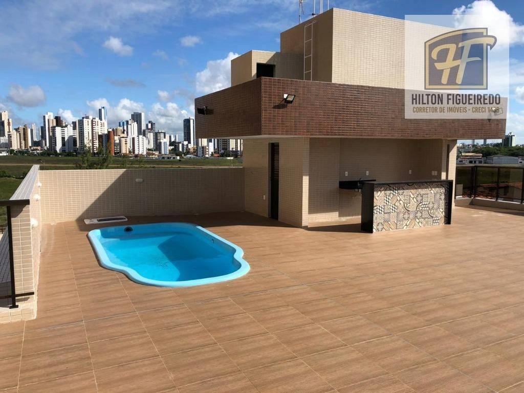 Apartamento com 2 dormitórios à venda, 60 m² por R$ 219.000 - Bessa - João Pessoa/PB