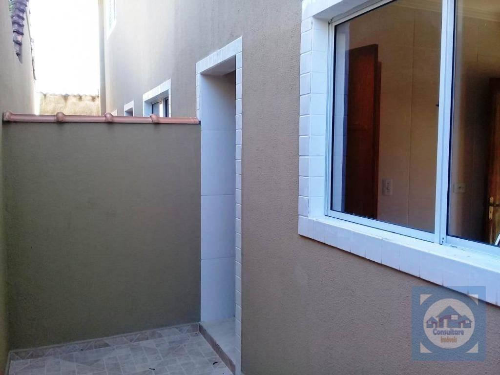 Casa com 2 dormitórios à venda, 64 m² por R$ 209.500 - Esplanada dos Barreiros - São Vicente/SP