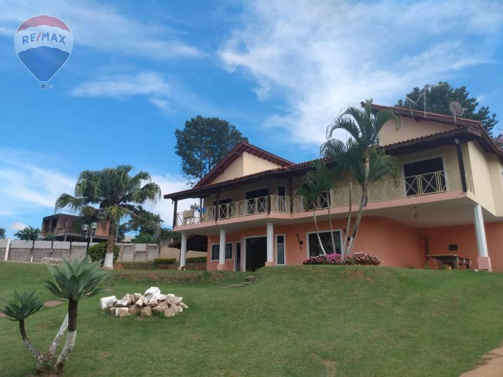 Casa com 5 dormitórios para alugar, 500 m² por R$ 4.000/mês - Jardim Estância Brasil - Atibaia/SP