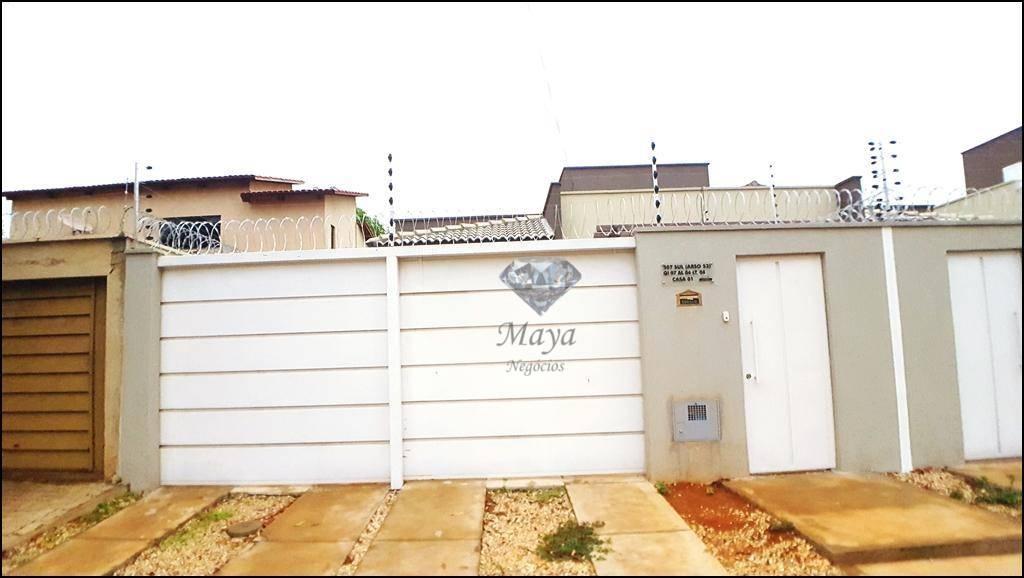 Casa 2 Quartos, 80 m² c/ varanda gourmet na 507 Sul