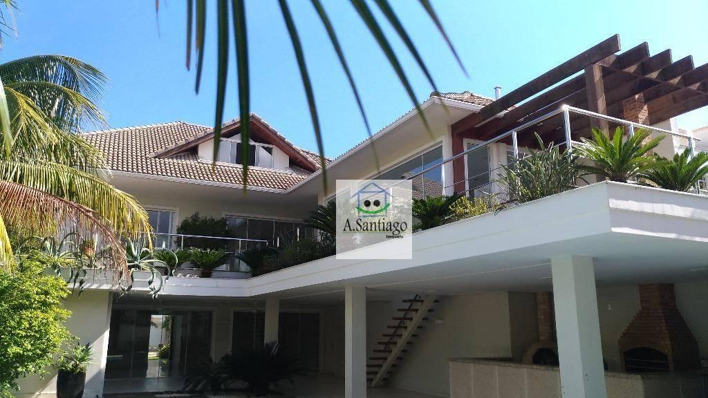 Santa Mônica Jardins Impecável Casa Barra da Tijuca