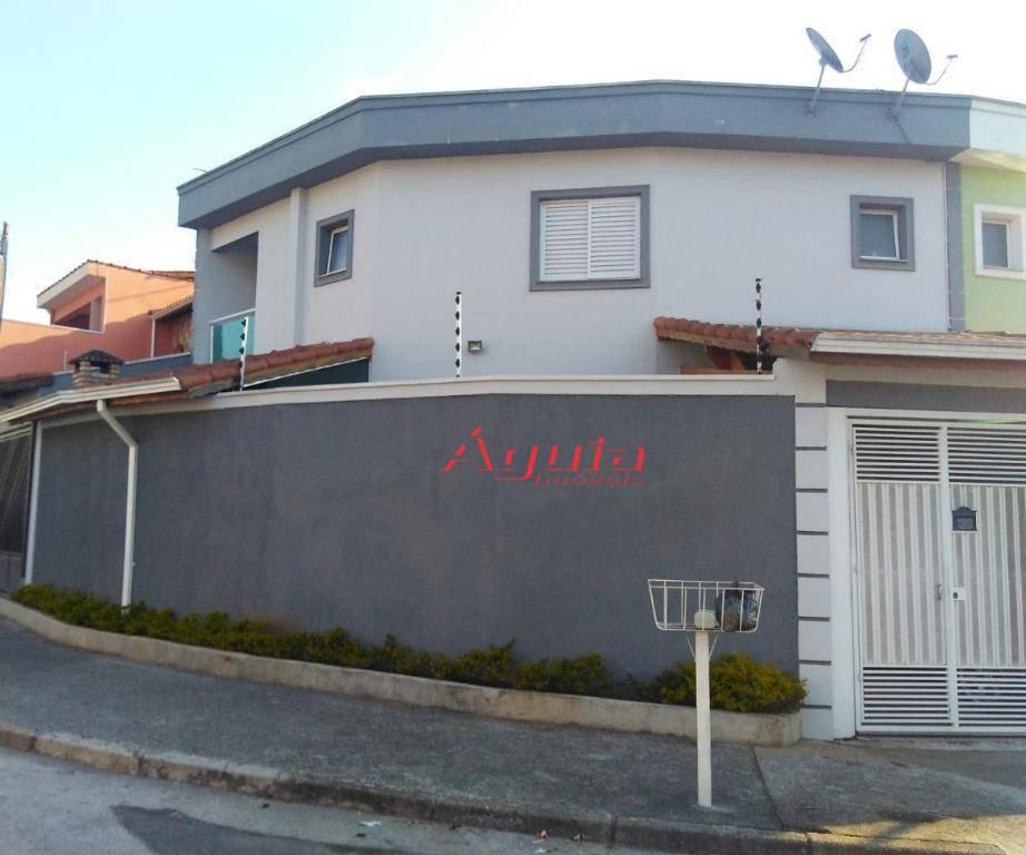 Sobrado residencial à venda, Jardim Rina, Santo André.