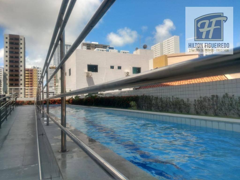 Apartamento com 3 suítes à venda, 126 m² por R$ 590.000 - Bessa
