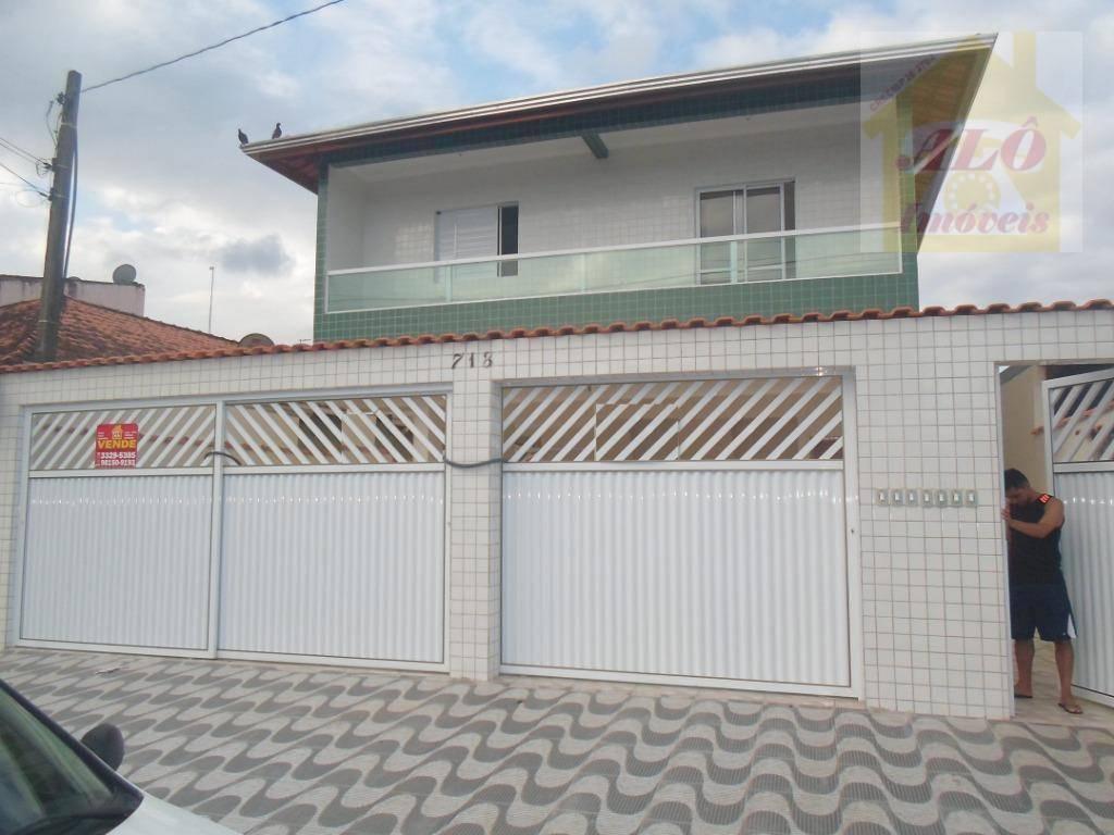 Casa com 2 dormitórios para alugar, 50 m² por R$ 900/mês - Parque das Américas - Praia Grande/SP