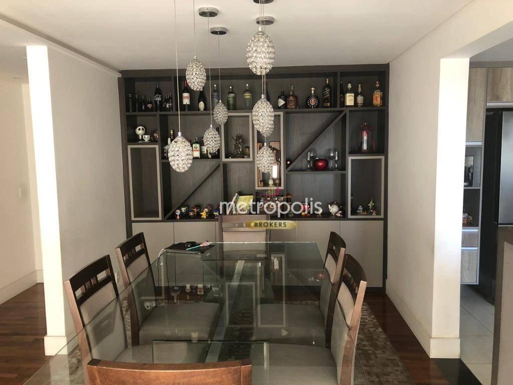 Apartamento com 3 dormitórios à venda, 120 m² por R$ 925.000,00 - Jardim - Santo André/SP