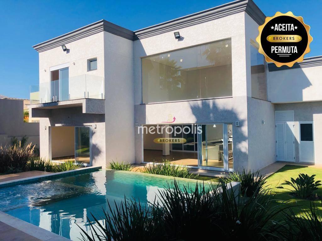 Sobrado de condomínio, alto padrão, 452 m² por R$ 1.500.000 - Centro - Porto Feliz/SP