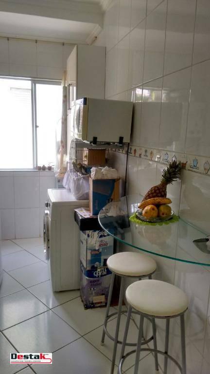 Kitnet com 1 dormitório à venda, 40 m² por R$ 207.000 - Dos Casa - São Bernardo do Campo/SP