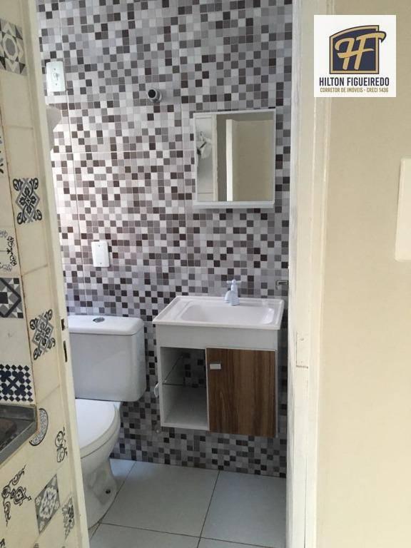 Apartamento com 1 dormitório para alugar, 35 m² por R$ 780/mês - Tambaú - João Pessoa/PB