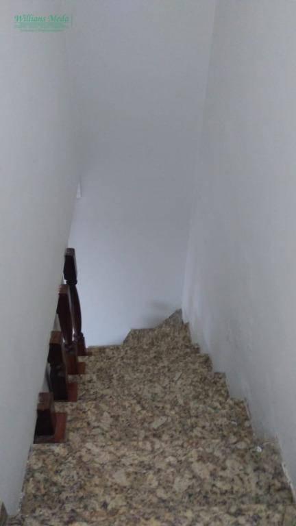 Sobrado com 3 dormitórios para alugar, 200 m² por R$ 3.200/mês - Vila Fiuza - Guarulhos/SP