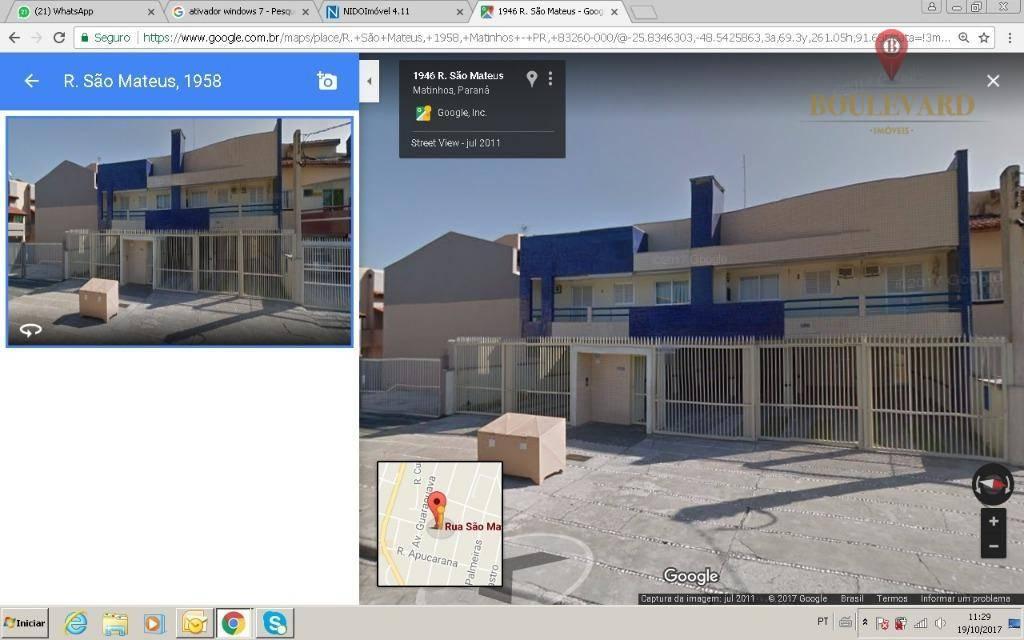 Apartamento Duplex Vende 2 Quartos , 2 Vagas em Caioba
